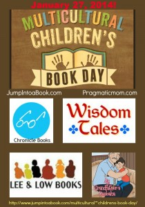 Pinterest collage - multicultural Children's Book Day