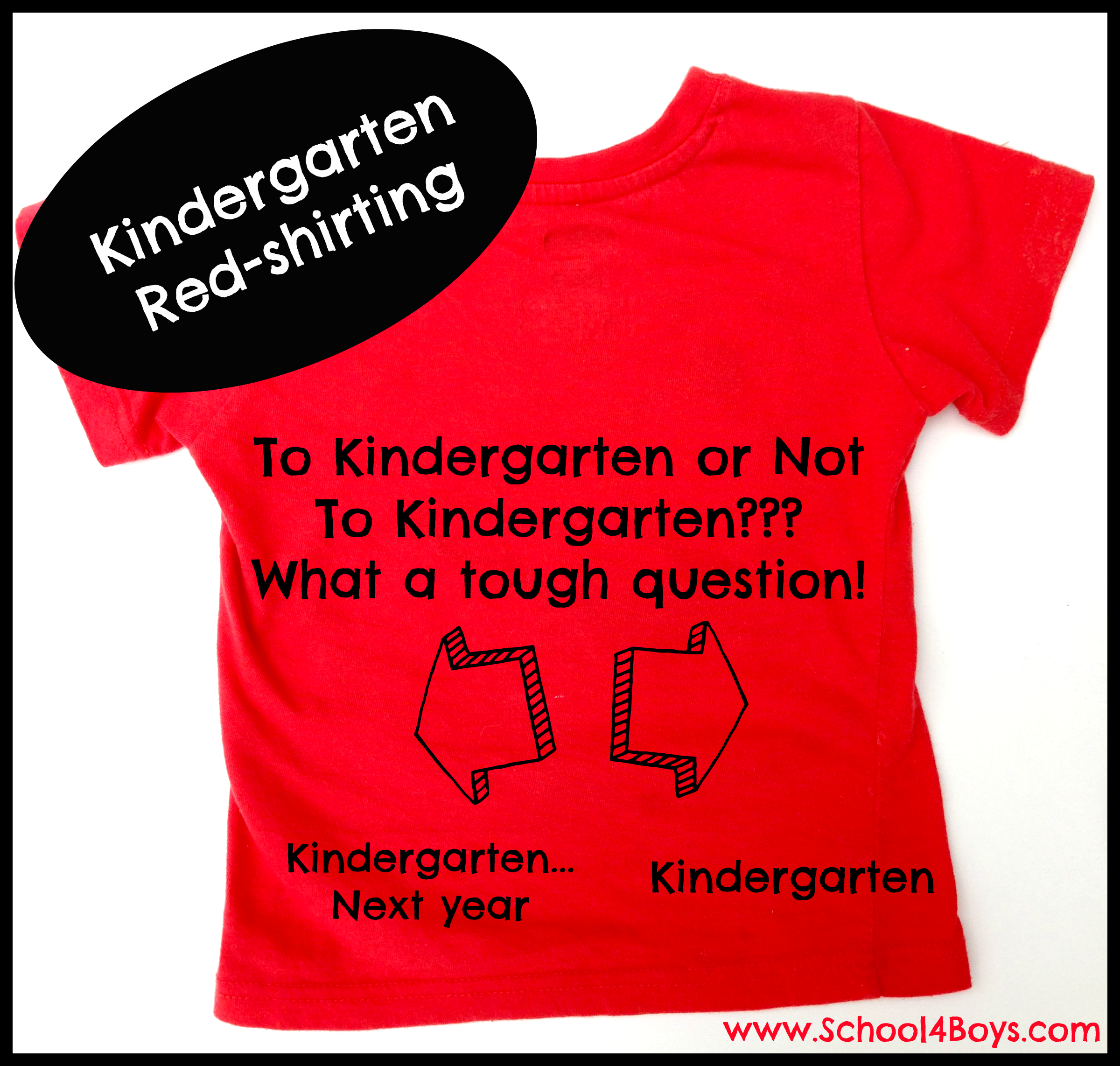 "Image result for On ""Redshirting"" Kindergarteners"