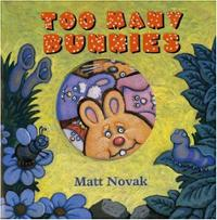 too-many-bunnies-matt-novak-hardcover-cover-art