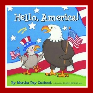 4th of July Picture Books : Hello America