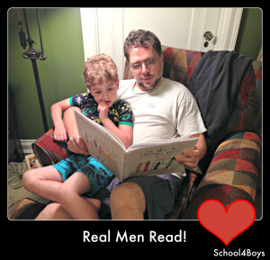#DadsRead, the importance of fathers reading to their kids, dads read books