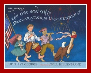 4th of July picture books: The One and Only Declaration of Independence