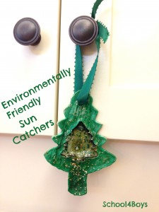 The Giving Tree Dinner Party - Environmentally Friendly Sun Catchers Craft