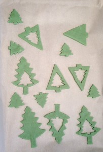 The Giving Tree Dinner Party - environmentally friendly sun catcher ornament tree craft