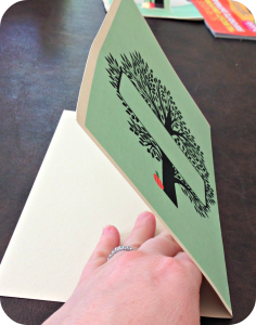 The Giving Tree Dinner Party - Make a pop-up table card
