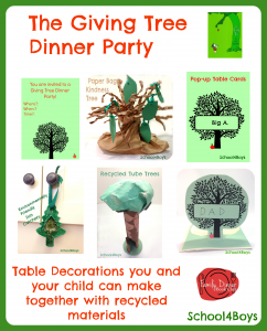 The Giving Tree Dinner Party, Family Book Club
