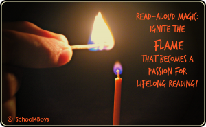 Flame read aloud, read aloud magic, read aloud to kids