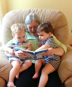 read aloud magic, flame read alouds, grandparents read, kids reading
